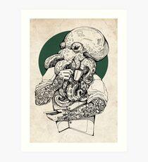 Mr Octopus Print/case Art Print