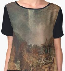 The Reichenbach falls by J M W Turner Chiffon Top