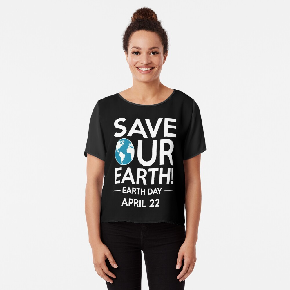 Cool Unless March for Science Earth Day Tshirt Chiffon Top