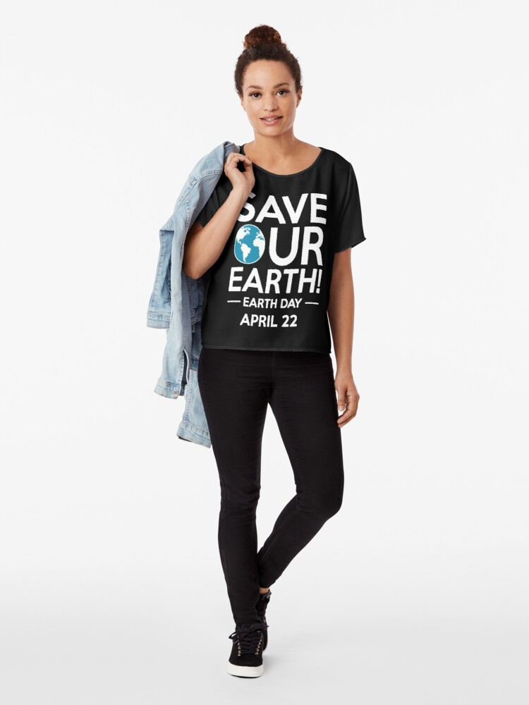Alternative Ansicht von Cool Unless March for Science Earth Day Tshirt Chiffon Top