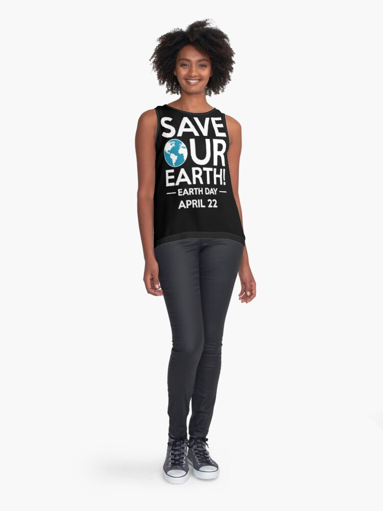 Alternative Ansicht von Cool Unless March for Science Earth Day Tshirt Ärmelloses Top