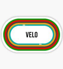 Velodrome - Cycling T shirt Sticker