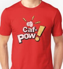Caf-Pow - Distressed Variant 2 Unisex T-Shirt