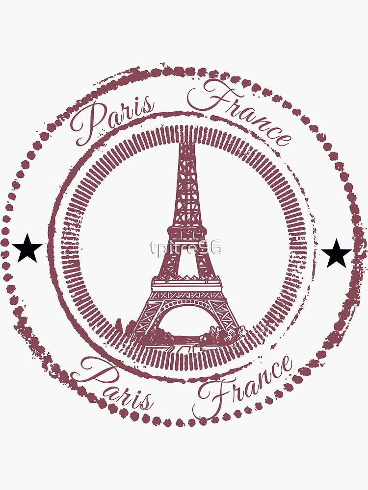 Paris Stempel von tpitre96