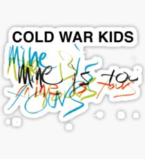 cold war kids Sticker