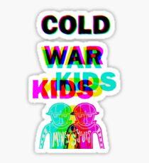 cold war kids Sticker