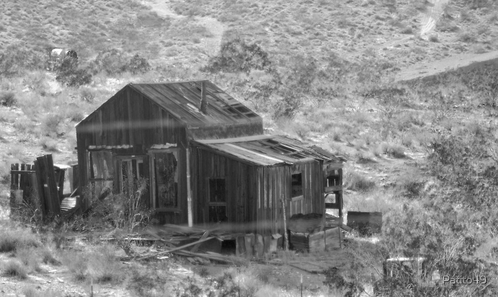 Miner's Shack at Randsburg by Patito49