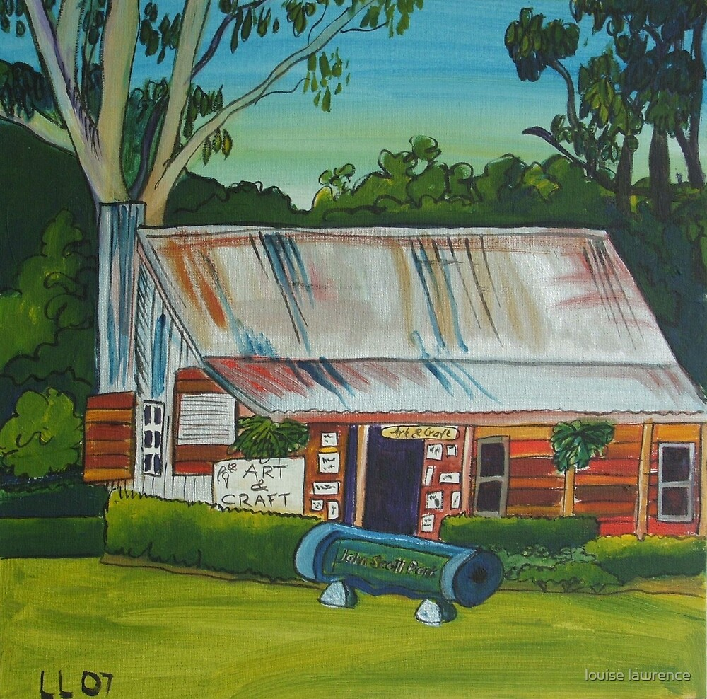 slab hut gallery by louise lawrence
