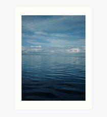 Waters of Titicaca Art Print