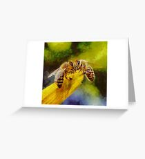 Bees for Life by Sarah Kirk Greeting Card