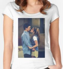 Cory and Topanga Women's Fitted Scoop T-Shirt