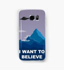 I WANT TO BELIEVE - PHONE CASE Samsung Galaxy Case/Skin