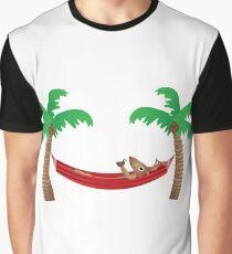 Reindeer Chillaxing Graphic T-Shirt