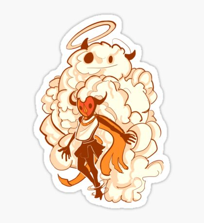 Cloud Guardian Sticker