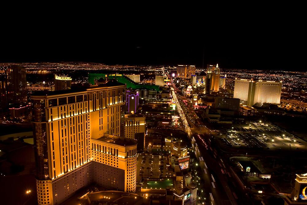 Las Vegas Strip by David Collopy