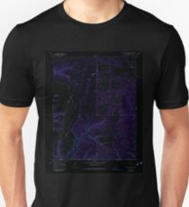 USGS TOPO Map Colorado CO Red Horse Gulch 234233 1966 24000 Inverted T-Shirt