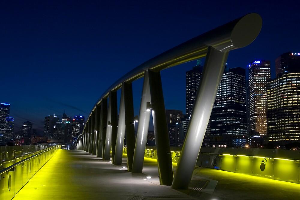 Birrarung Marr Footbridge by David Collopy