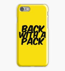 back with a pack iPhone Case/Skin
