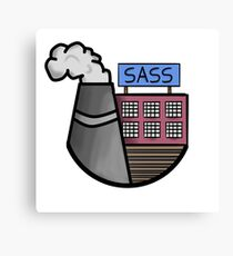 Sass Factory Canvas Print