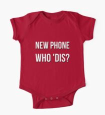 New  Phone Who Dis? Meme Kids Clothes