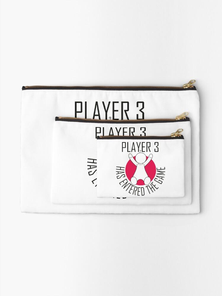 Alternative Ansicht von Spieler 3 hat das Spiel betreten Täschchen