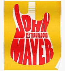 ALBUM 2017 JOHN MAYER Callista 1 Poster