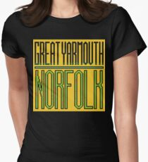 Great Yarmouth, Norfolk Womens Fitted T-Shirt