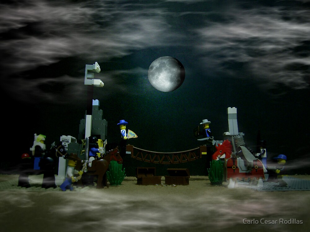 The Fullmoon Battle At LEGOLand by Carlo Cesar Rodillas