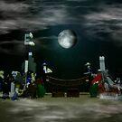 The Fullmoon Battle At LEGOLand by Carlo Cesar Rodillas