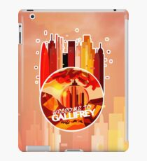 Welcome To: Gallifrey iPad Case/Skin