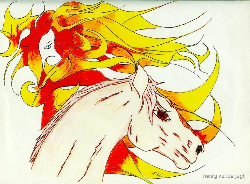 HORSE SPIRIT by Henry VanderJagt