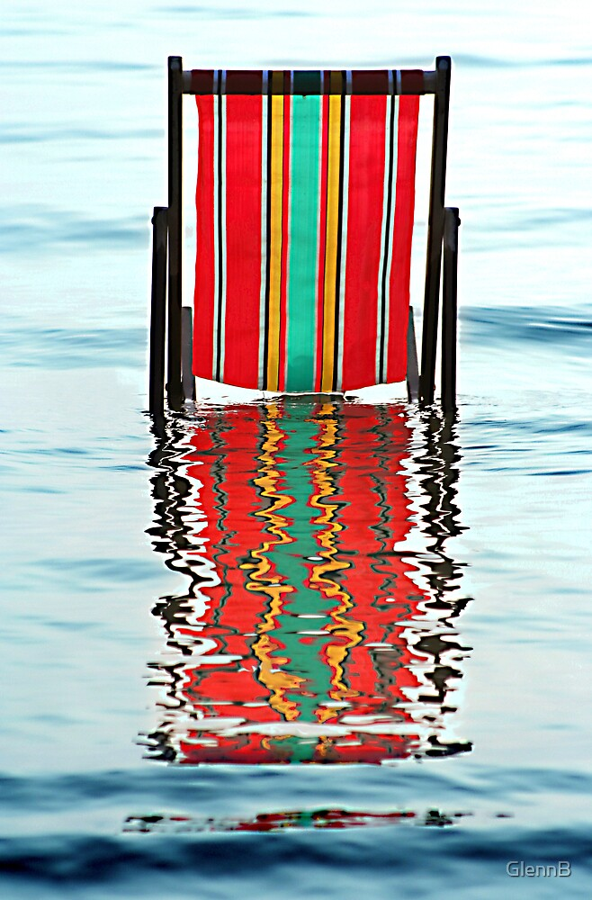 """DECKCHAIR CHILLING"" by GlennB"