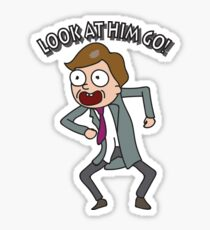 Rick And Morty: Lawyer Morty Sticker