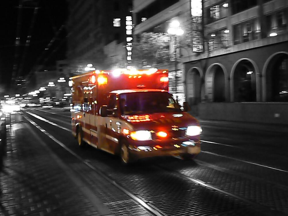 Ambulance by Rowan Kanagarajah