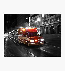 Ambulance Photographic Print
