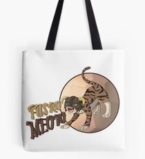 Dragonborn Cat - Fus Ro Meow Tote Bag