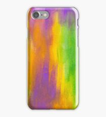 beautiful abstract painted texture iPhone Case/Skin