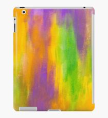 beautiful abstract painted texture iPad Case/Skin