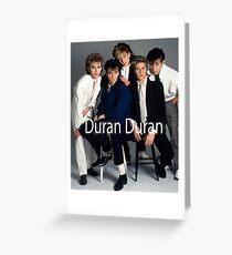 Duran Duran Vintage Greeting Card