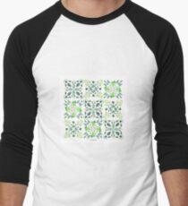 Natural Tiles IV Camiseta ¾ bicolor para hombre