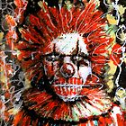clowns are kind of scary  by Daniel Mathers
