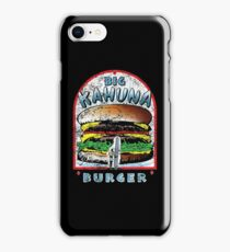 "Big ""KAHUNA"" Burger - Distressed Variant iPhone Case/Skin"