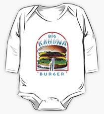 "Big ""KAHUNA"" Burger On Sesame Dark Kids Clothes"
