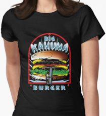 "Big ""KAHUNA"" Burger On Sesame Dark T-Shirt"