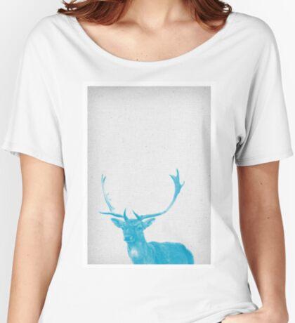 Deer 01 Relaxed Fit T-Shirt
