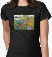 internet tiere 102012 Women's Fitted T-Shirt