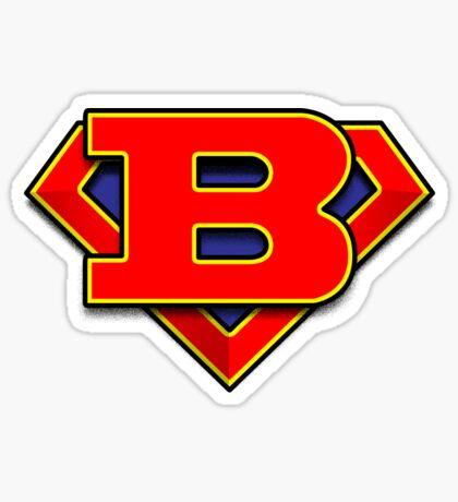 B Power Symbol Sticker