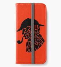 Sherlock Holmes, Consulting Detective iPhone Wallet