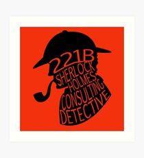 Sherlock Holmes, Consulting Detective Art Print