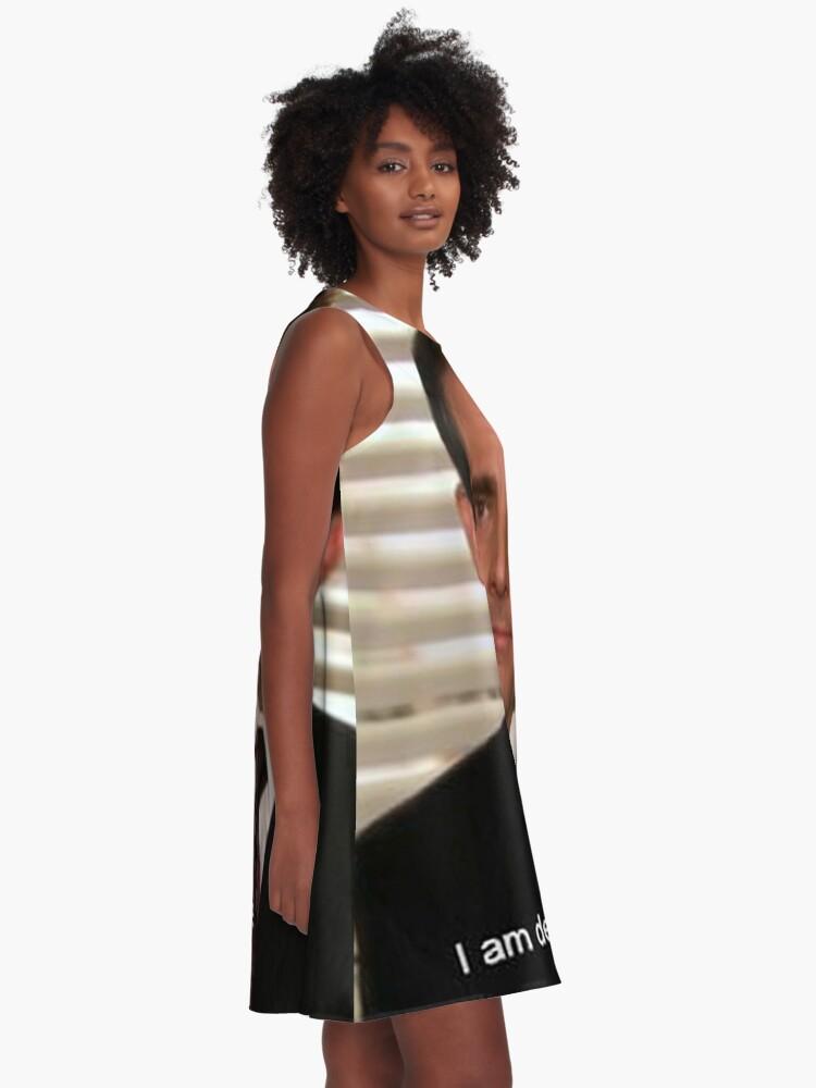 Alternative Ansicht von Das Büro A-Linien Kleid